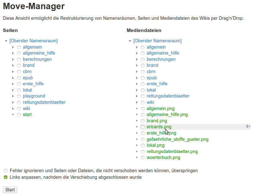 baumbasierter Move-Manager